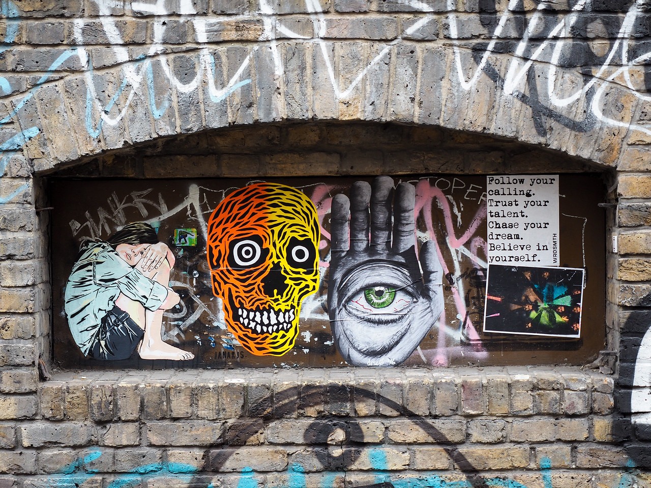 Street art in London's East End