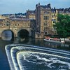 River Avon / Pulteney Bridge, Bath, England