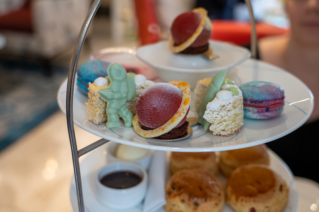 Science-themed afternoon tea in London