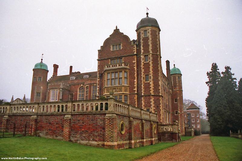 Madingley Hall, Cambridge, Cambridgeshire, England.