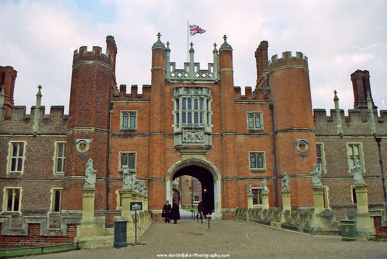 Hampton Court Palace, Surrey, England.