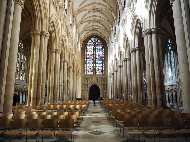 Inside the Beverley Minster