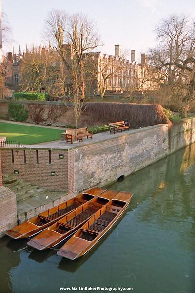 River Cam, Cambridge, Cambridgeshire, England.
