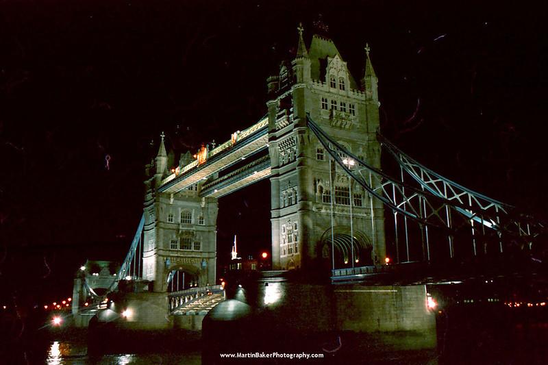 Tower Bridge, London, England.