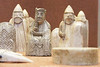 The Lewis Chessmen, British Museum, London, England.