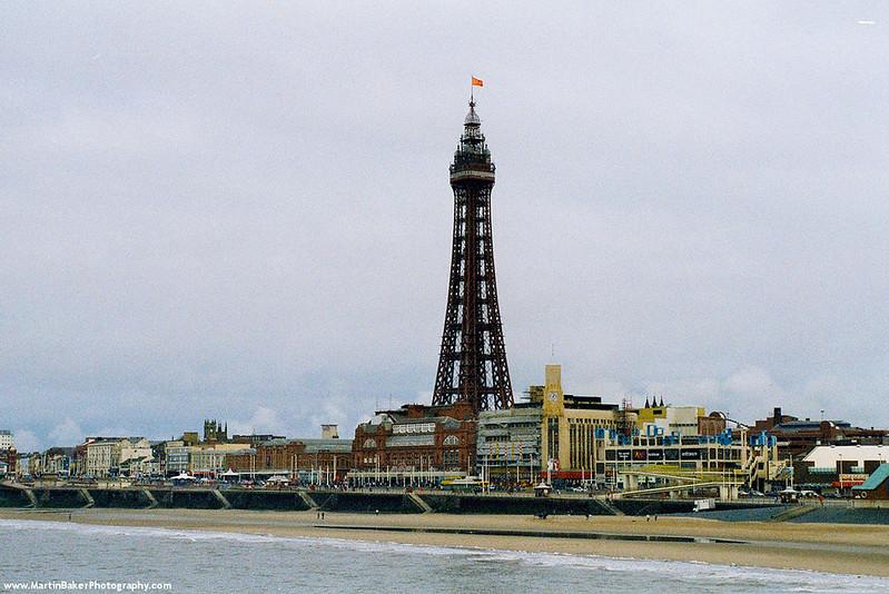 Blackpool Tower, Blackpool, Lancashire, England.