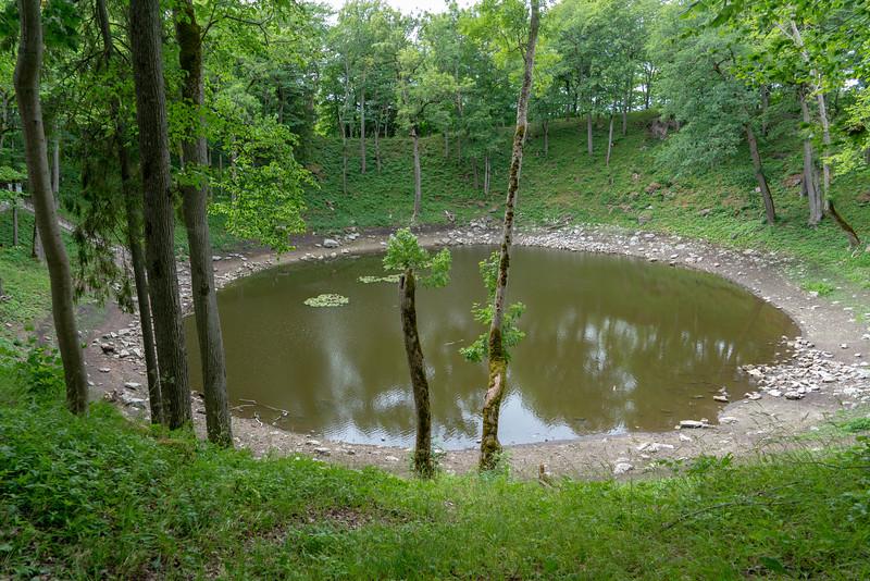 Kaali crater, Saaremaa Island, Estonia