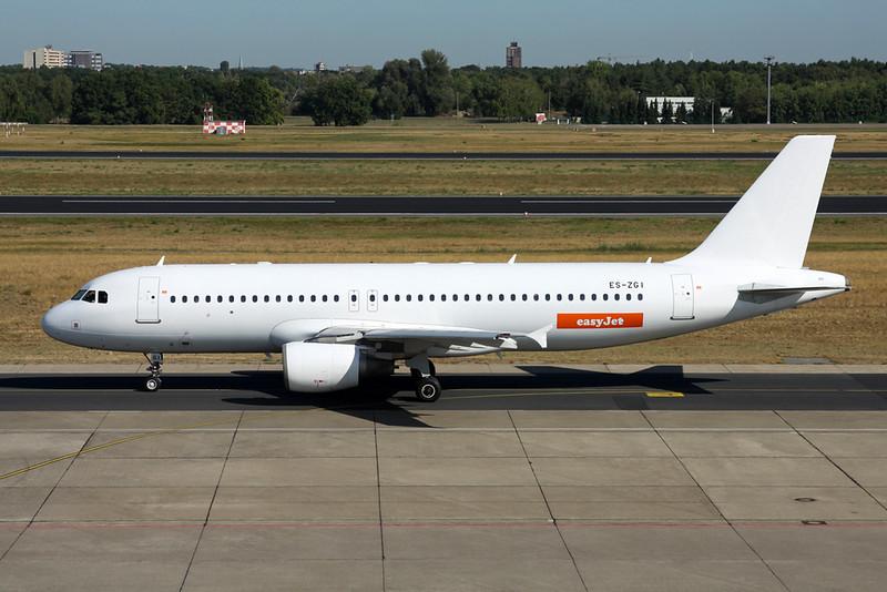 "ES-ZGI Airbus A320-214 ""SmartLynx Estonia"" c/n 1413 Berlin-Tegel/EDDT/TXL 22-08-18 ""Easyjet"""