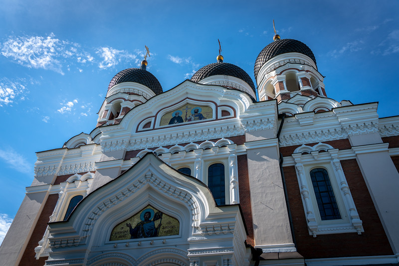 Alexander Nevsky Russian Orthodox Cathedral in Tallinn