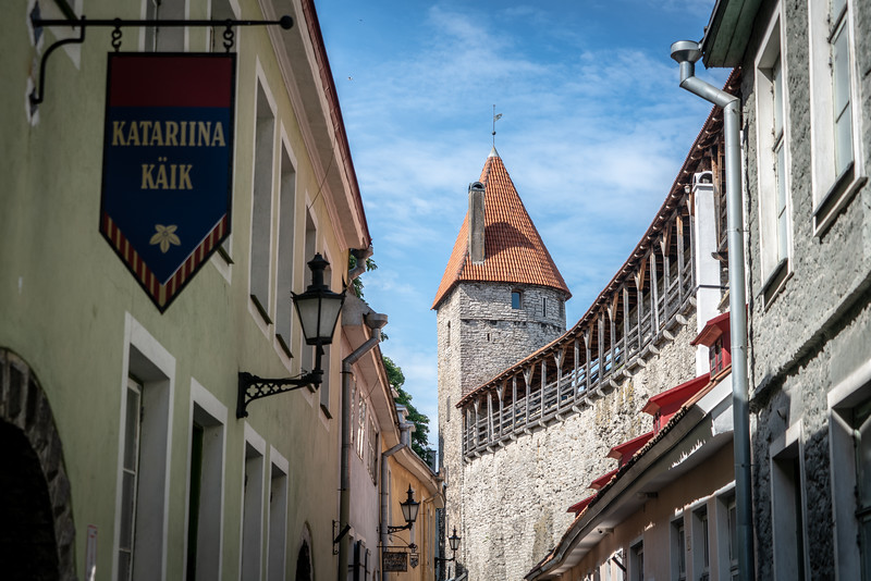 The Old Town of Tallinn, Estonia