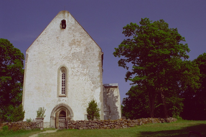 Medieval Church - Saaremaa, Estonia