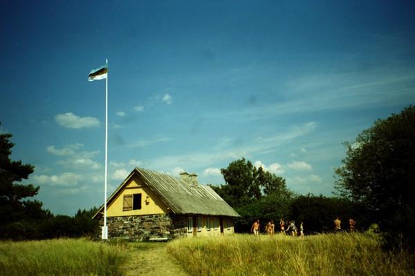 Farmhouse on Island in Estonia