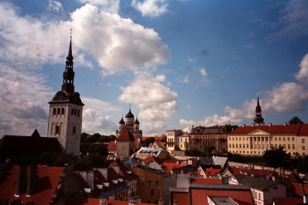 The Journey Begins - Tallinn, Estonia
