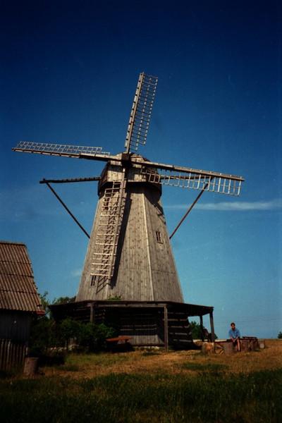 Village Windmill - Saaremaa Island, Estonia