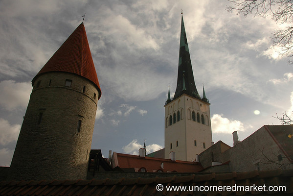 Tallinn's Old Town - Estonia