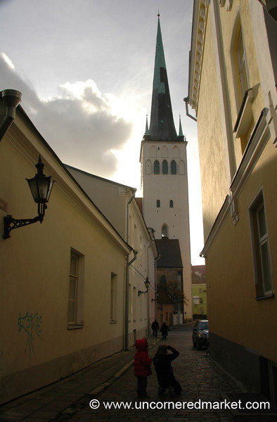 St. Olaf's Church - Tallinn, Estonia