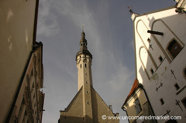 Raekoda (Town Hall) Angles - Tallinn, Estonia