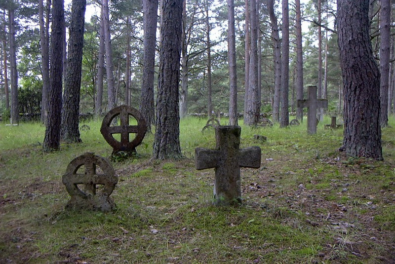 Swedish Cemetery - Vormsi Island, Estonia