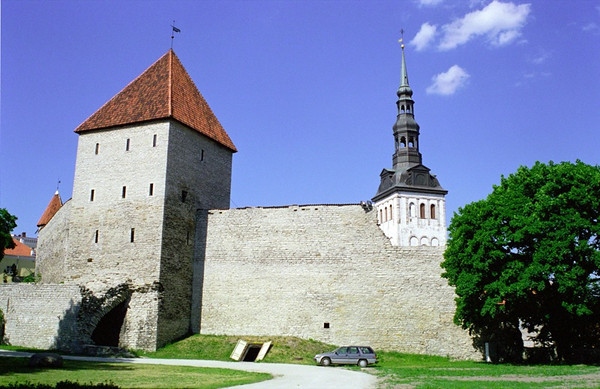 Medieval Walled City - Tallinn, Estonia