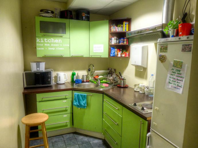 feelgood hostel tallinn kitchen