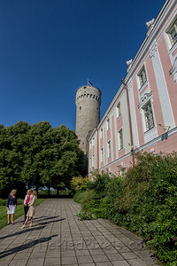 Pikk Hermann Tower and Toompea Castle