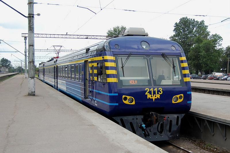 Re-built 2113 at Tallinn.