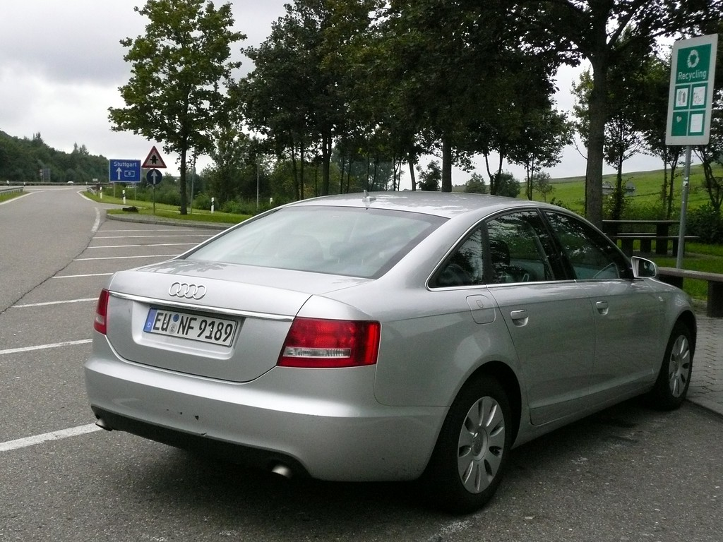 The Audi diesel just would not go any faster... but it was comfortable.