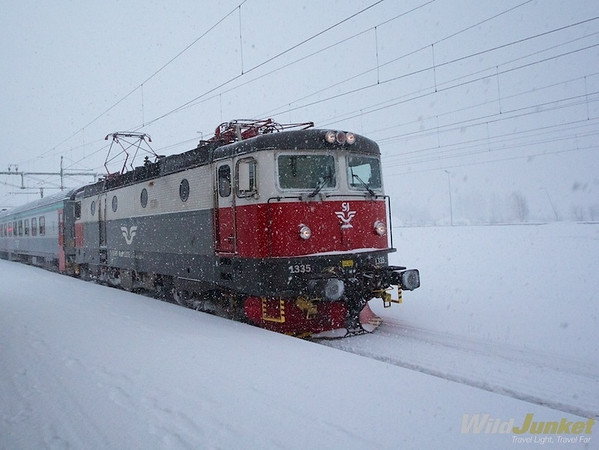 Arctic Circle Train: Traveling Lapland By Train