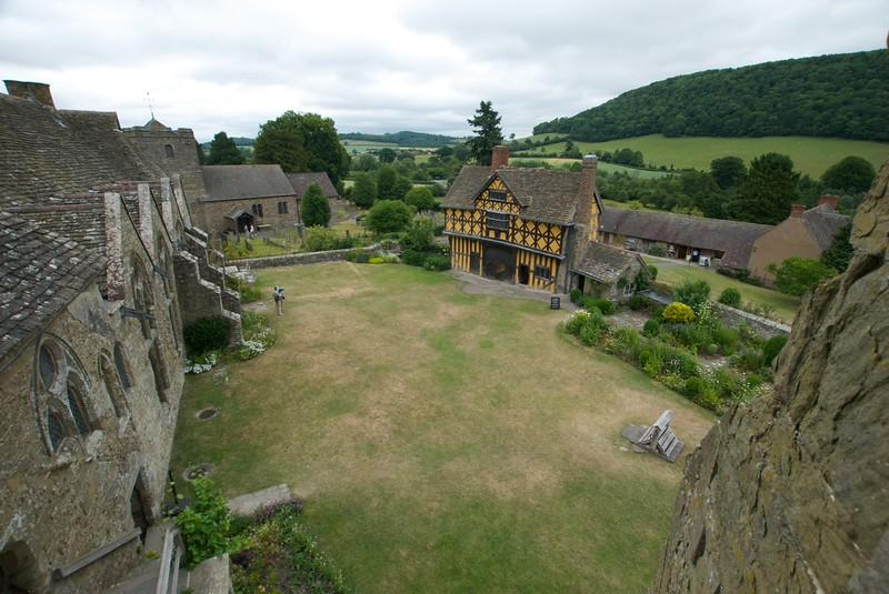 Stokesay Castle is...