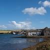 St Margaret's Hope, our arrival port in Orkney...