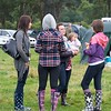 or just chatting away and comparing their party Wellies.