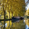 Just up the canal at Caumont