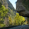 along with roads carved through gorges...