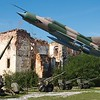 The Turanj Museum of the Homeland War, in its outdoor setting, had plenty of room for weaponry and planes,