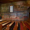 with fantastic interior frescoes done in 1665,