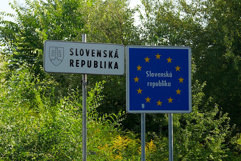 We left Hungary after a one-day drive through and crossed into Slovakia.