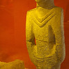 This statue is reputed to be the earliest known anthropomorphic statue in the world, dated from 9,000 B.C.