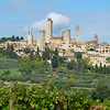 the famous hilltop town of San Gimignano, said to retain only fifteen of its original seventy-two towers.