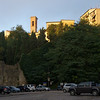 Volterra is equally charming, here seen from our overnight parking area,