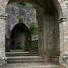 from which we walked through the stone entry portal,