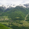 On the road up to Svaneti and the high Caucasus mountains.