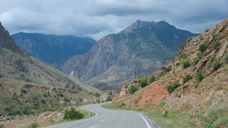 We passed through some of the more arid sections of Turkey on the way to...