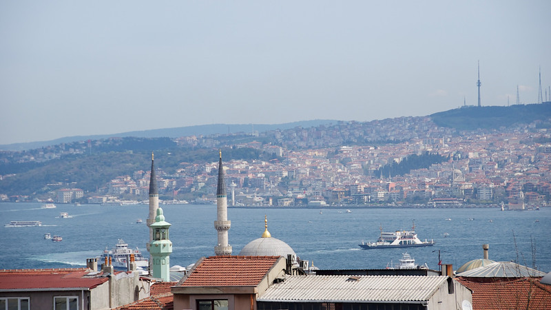 We returned to Istanbul in the spring...