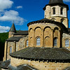 The romanesque church of Ste-Foy dominates the town and dates from the eleventh century.