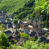 Our next stop was in charming Conques, sited high in the hills above a smaller river, the Dourdou.