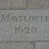 Various plaques and this inscription mark the historic location.