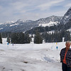 We had fresh snow during our early March visit to Switzerland.