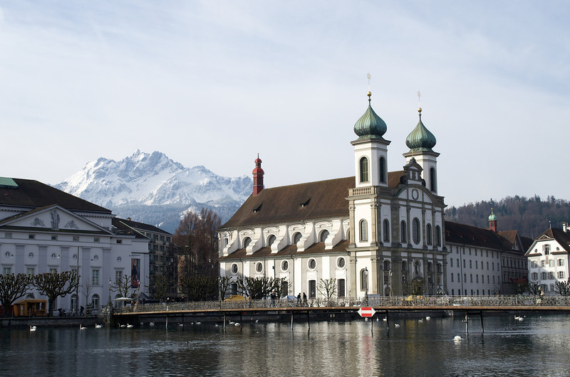 Lovely Luzern was our base in Switzerland...