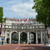 Further down Whitehall we pass through Admiralty Arch,