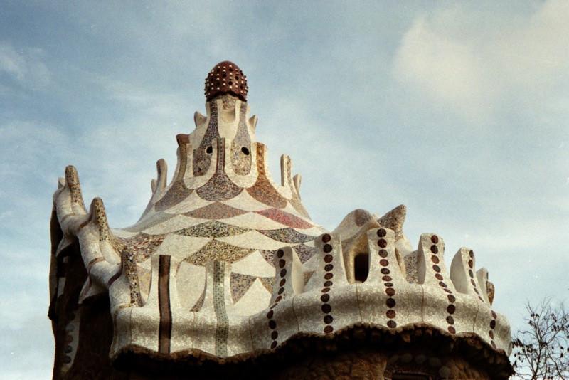 Antoni Gaudi's Park Guell - Barcelona, Spain